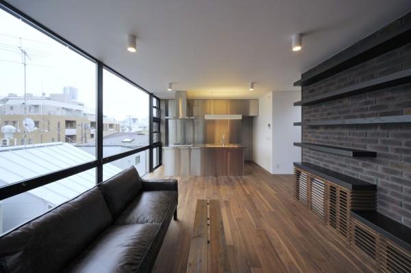 Aat makoto yokomizo architects inc yanaka terrace for Terrace house full episodes